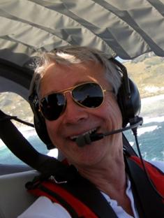 John Smith in the Lancair Legacy VH-XTZ